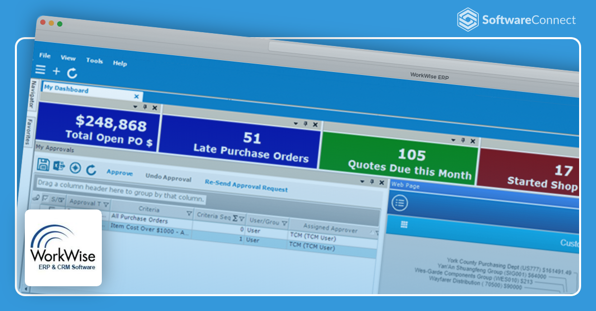 WorkWise ERP | 2020 Software Reviews, Pricing, Demos