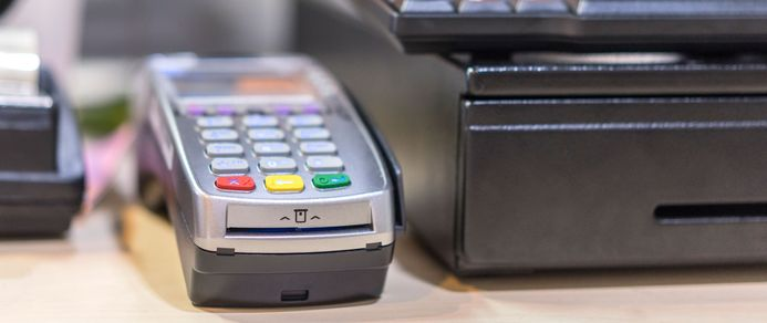 Credit card scanner with EMV