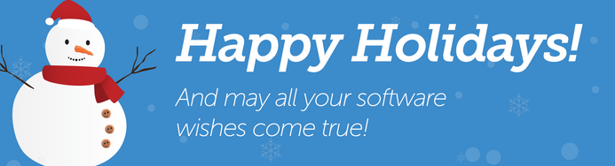 Happy holidays! And may all your software wishes come true!