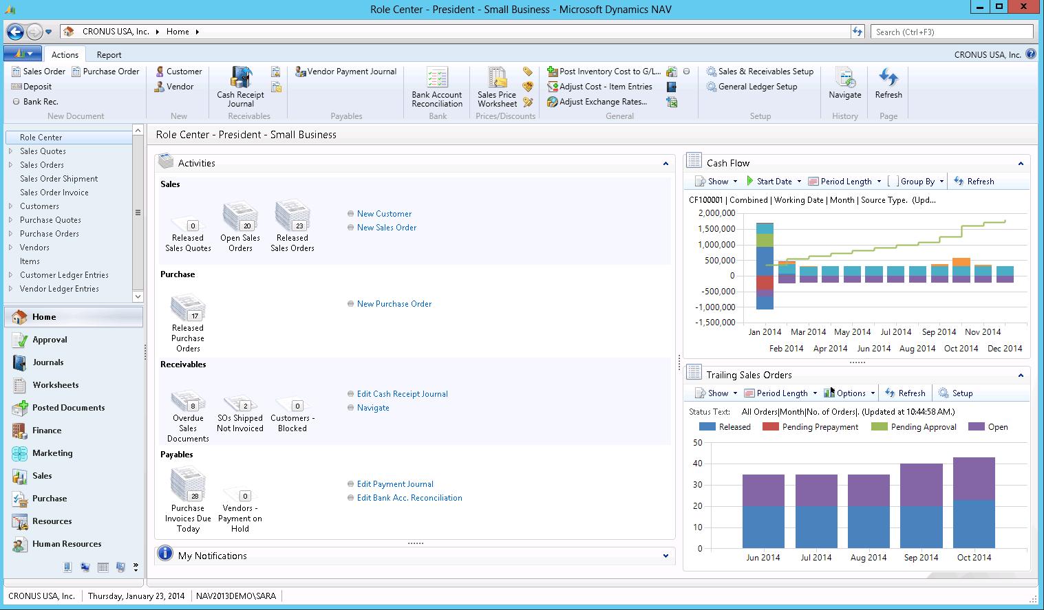 Dynamics Nav 2017 Reviews Pricing Screenshots Demo