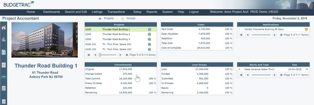 Budgetrac for Real Estate Developers | 2019 Software Reviews
