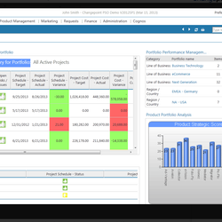 Screenshot: Portfolio Management