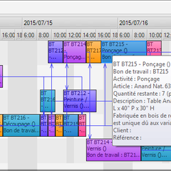 Screenshot: Gantt
