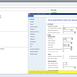 Screenshot: Accounts Receivable