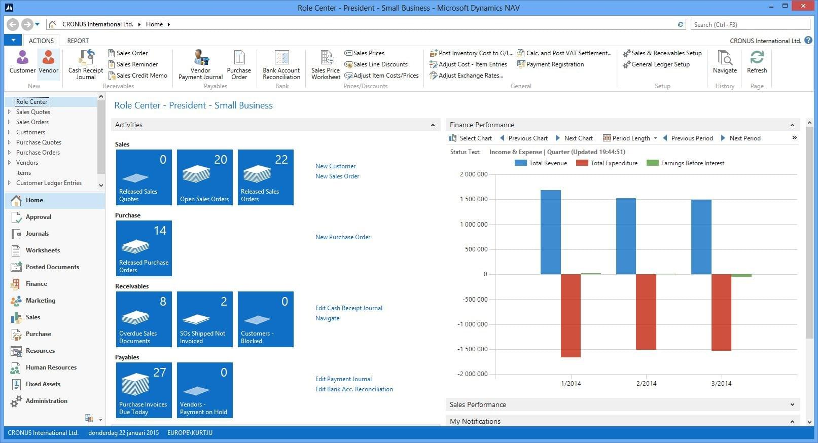 Dynamics Nav 2018 Reviews Pricing Screenshots Demo