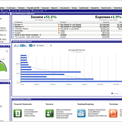 Screenshot: Revenue Recognition