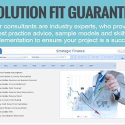 Screenshot: Solution fit guarantee