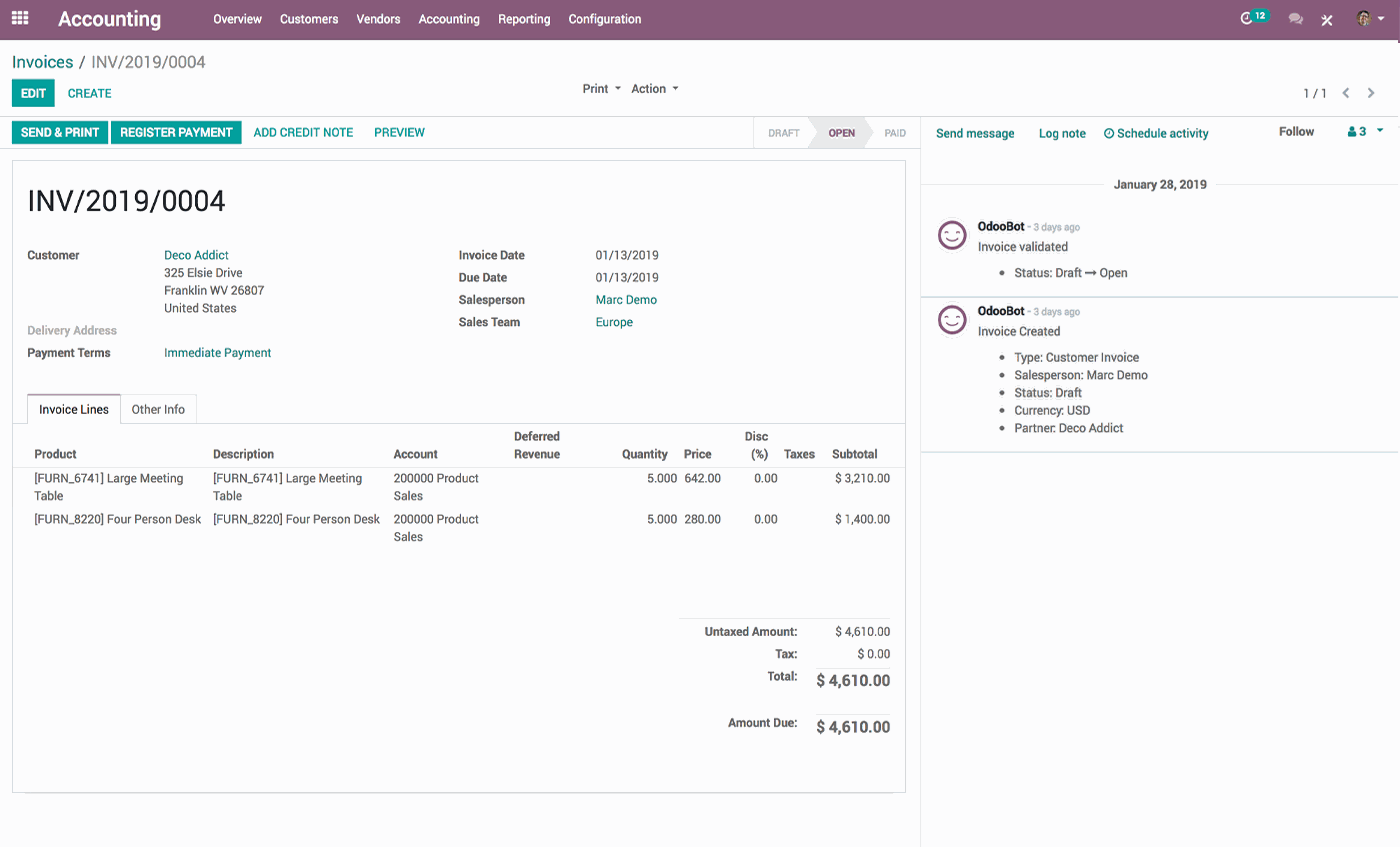 Open ERP s a  Odoo | 2019 Software Reviews, Pricing, Demos