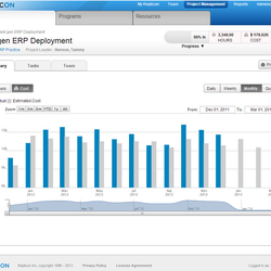 Screenshot: Next gen ERP Deployment
