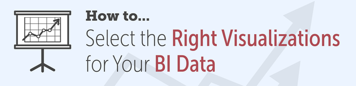 How to select the right visualizations for your BI data