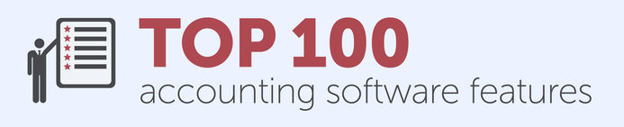 Top 100 accounting software features